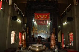 金蘭廟 神龕 01 1905年 光緒31年 觀音佛祖 副神神像 01