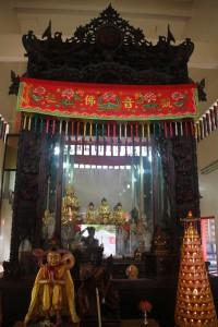 金蘭廟 神龕 01 1905年 光緒31年 觀音佛祖 副神神像 02