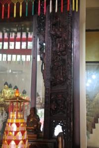金蘭廟 神龕 01 1905年 光緒31年 觀音佛祖 副神神像 03