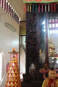 金蘭廟 神龕 01 1905年 光緒31年 觀音佛祖 副神神像 04
