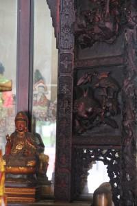 金蘭廟 神龕 01 1905年 光緒31年 觀音佛祖 副神神像 06