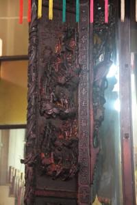 金蘭廟 神龕 01 1905年 光緒31年 觀音佛祖 副神神像 07