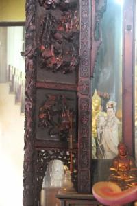 金蘭廟 神龕 01 1905年 光緒31年 觀音佛祖 副神神像 08