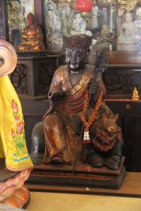 金蘭廟 神龕 01 1905年 光緒31年 觀音佛祖 副神神像 09