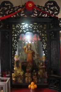 金蘭廟 神龕 02 太陰星君 副神神像