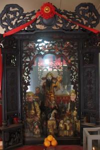 金蘭廟 神龕 03 太陽星君 副神神像