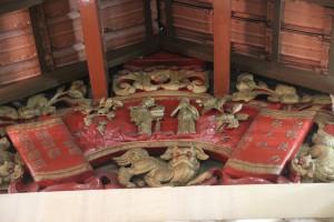 瓊州天后宮 海南會館 屋頂木雕 01