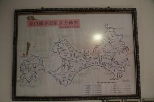 金門會館浯江孚濟廟 碑 金門屬鄉團家鄉分布圖