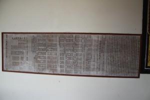 三邑祠 石碑 04 1958年 豐永大公司重建三邑義山祠路序 01