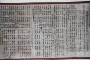 三邑祠 石碑 04 1958年 豐永大公司重建三邑義山祠路序 09