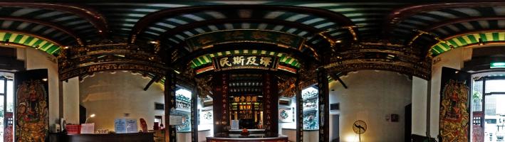 Indoor Temple 360° Views/庙宇室内三维全景